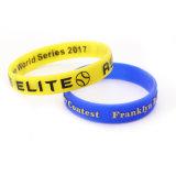 Faites gaufré Bracelets en Silicone / numérotés de bracelets en silicone