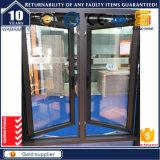 Het Openslaand raam van het aluminium met de Grill van de Veiligheid