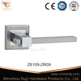 Poignée de porte intégrée sur la rosette carré pour porte de sécurité (Z6108-ZR09)