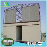 構築によって絶縁されるEPSサンドイッチファイバーのセメントの壁パネル