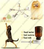 Animal de compagnie La tête de pulvérisation d'alimentation de la médecine et le pulvérisateur