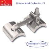 La fundición de acero inoxidable barandilla de Vidrio Cristal de montaje (montaje).