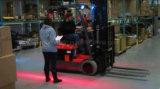 LED vermelho/ azul Zona Vermelha Carro armazém do testemunho de Estrada