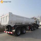 Het Zand en de Steen van de Lading van de Aanhangwagen van de Kipper van de Stortplaats van de Fabriek van China voor Verkoop