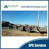 Système à télécommande de chargeur souterrain de Load-Haul-Dump