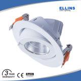 Haut Lumen CIR80 CRI90 10W à LED de lumière au plafond
