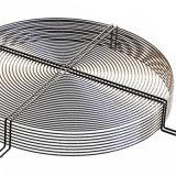 Griglia d'acciaio personalizzata della protezione del ventilatore del motore ricoperta polvere