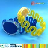 Elastischer RFID PlastikWristband des Verein-Mitgliedschafts-Management-