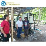 Sistema de purificación de agua Filtro de agua salina de ósmosis inversa.