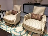 Haltbare Hotel-Möbel mit Vorhalle-Gewebe-Lehnsessel (YB-O-33)