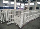 3 sistemabili hanno parteggiato contenitore di base metallica di plastica del rullo