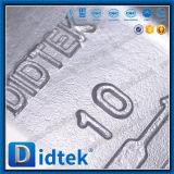 Valvola a farfalla di derivazione della flangia di triplo di Didtek