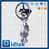 Il prezzo di fabbrica di Didtek Triplice-Ha stampato in offset la valvola a farfalla della cialda
