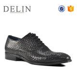 41-46 El tamaño de la moda de cuero auténtico de los hombres Zapatos de Vestir