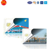 Smart card da listra magnética do PVC/Sle 4428, smart card Sle4442