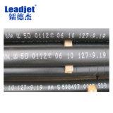 Impresora negra de la enumeración de la fecha del tiempo del carácter de Leadjet V98 pequeña