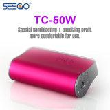 Caixa Quente o vaporizador Seego Bateria Mod Vape ajustável