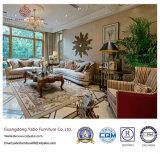 Empfindliche Hotel-Möbel für Vorhalle-Möbel mit ledernem Sofa (YB-C-12)