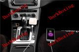 Jejua o móbil do USB do curso/o carregador sem fio do carro telefone de pilha para o iPhone