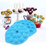 棒のケーキのツールが付いているケーキの破裂音、飴玉3Dのシリコーン型、ロリポップおよび党カップケーキのための焼ける型のシリコーン型