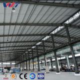 Costruzione prefabbricata del magazzino della struttura d'acciaio dell'ampia luce