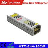 alimentazione elettrica di 24V 6A LED con le HTC-Serie della Banca dei Regolamenti Internazionali di RoHS del Ce