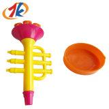 Het in het groot Plastic Stuk speelgoed van het Spel van het Water van de Bel van de Vorm van de Trompet