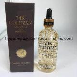 최신 판매 24K Goldzan 앰풀은 본질 100개 Ml 구성한다