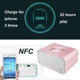Haut-parleur mobile de radio de chargeur de téléphone de côté de pouvoir de NFC