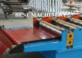 機械を形作る電流を通された鋼鉄タイルの金属の屋根ロール