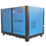 SEF140EZ örtlich festgelegter Schrauben-Luftverdichter gefahren von Electricity