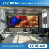 Schermo di visualizzazione fisso dell'interno di alta risoluzione del LED P3 con il Governo leggero