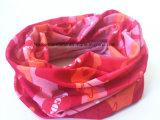 공장 생성에 의하여 주문을 받아서 만들어지는 폴리에스테 Microfiber 분홍색 다기능 관 Headwear