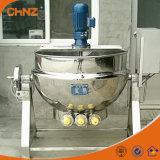Petróleo ou vapor do aço inoxidável que inclinam chaleira de cozimento Jacketed com preço do agitador