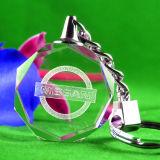 Keyring Keychain футбола кристаллический для Souvneir