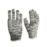 De gekleurde Katoen Gebreide Werkende van de Katoenen van de Veiligheid Handschoenen van het Werk Veiligheid van Handschoenen