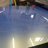 Acabado en color de molino en el exterior de aluminio recubierto de valla