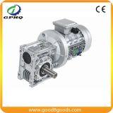 Motor 0.37kw de la caja de engranajes de la velocidad del gusano de Gphq Nmrv25