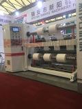 Rebobinadora Cortadora longitudinal de control PLC para la película de plástico con 300 m/min.