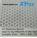 Rolo de Banner flexíveis de PVC Honeycomb adesivos refletivos imprimível de solventes
