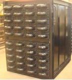 A caldeira parte poupanças inoxidáveis de carvão ou de combustível