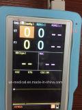 Analyseur de gaz multi d'anesthésie tenue dans la main de 5 pouces pour des animaux