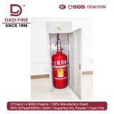 Precio del equipo de la lucha contra el fuego de la cabina 40L-150L FM200 del extintor de gas