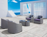 Rattan-Sofa-gesetzte im Freiensofa PET Rattan-Möbel