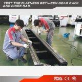 炭素鋼のためのハイテクなCNCのファイバーレーザーの打抜き機