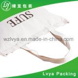 Sac d'emballage recyclable fait sur commande promotionnel de toile de coton d'achats