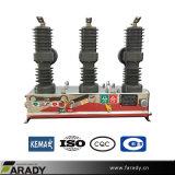 Высокое напряжение на открытом воздухе вакуумный выключатель Zw32-12 (Сделано в Китае)