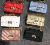 Bolsos de la jalea del bolso de la jalea del bolso de la promoción del bolso del caucho de silicón del PVC de las señoras