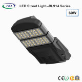 세륨 & RoHS를 가진 모듈 유형 60W LED 가로등