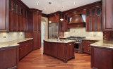 Цельной древесины в европейском стиле кухонной мебели